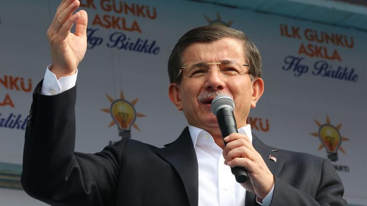 Başbakan Ahmet Davutoğlu'ndan 'beyaz toros' çıkışı