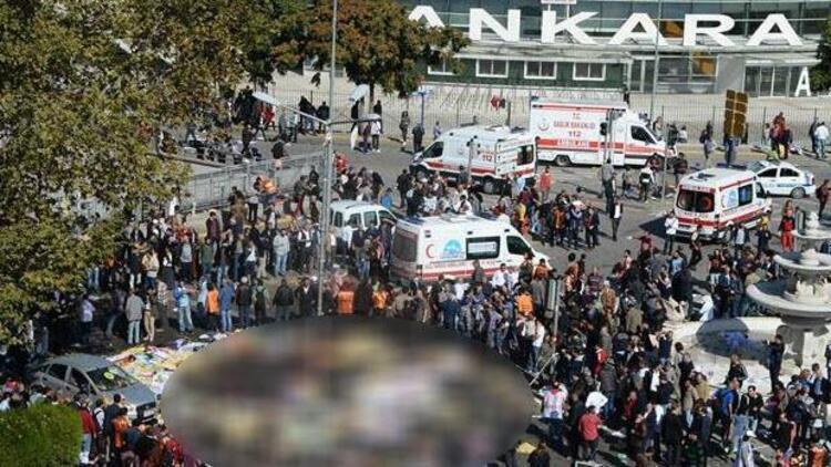 Polis mitinge 'canlı bomba' için uyarılmış