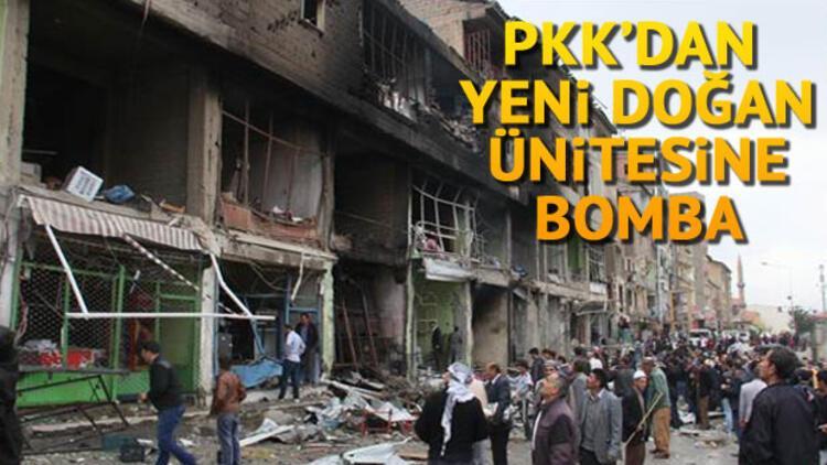 PKK'dan hastaneye bile bomba