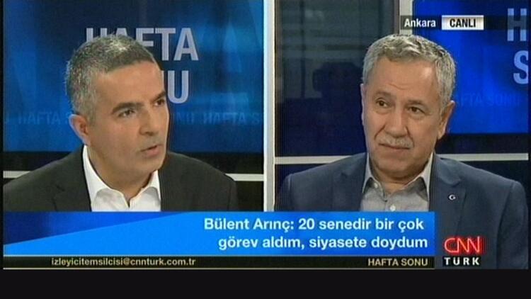 Bülent Arınç:TRT de dahil bazı kanallar bana ambargo uyguluyor