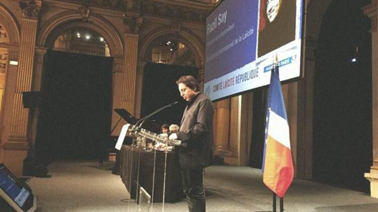 Fazıl Saya Fransadan Laiklik Ödülü