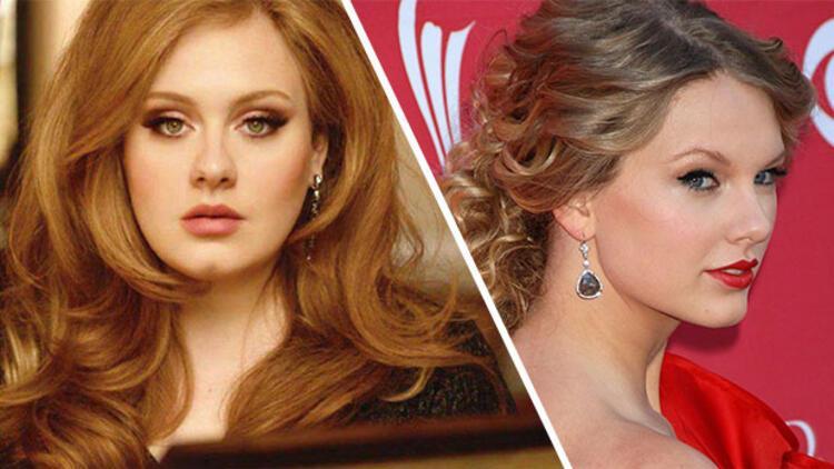 Adele Taylor Swiftin rekorunu yerle bir etti
