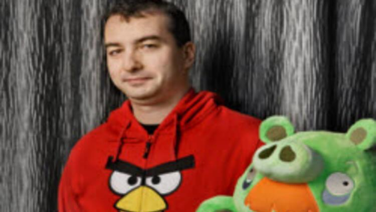 Angry Birds'teki Türk Hürriyet'e konuştu