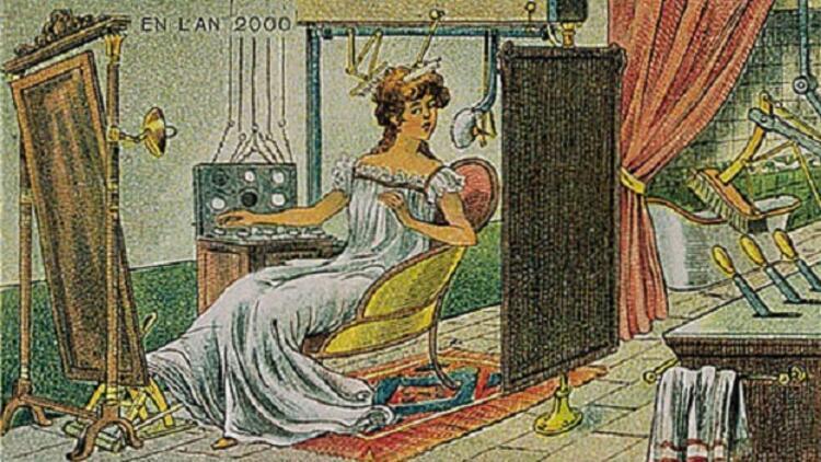 1910 yılından bakınca 2000'ler böyle olacaktı
