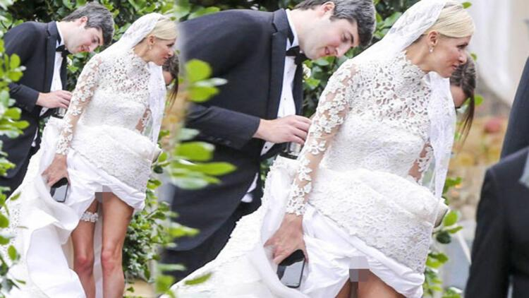 Nicky Hilton James Rothschild ile evlendi
