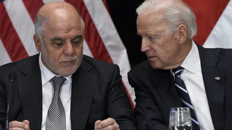 Irak Başbakanı Abadi ile Biden görüştü