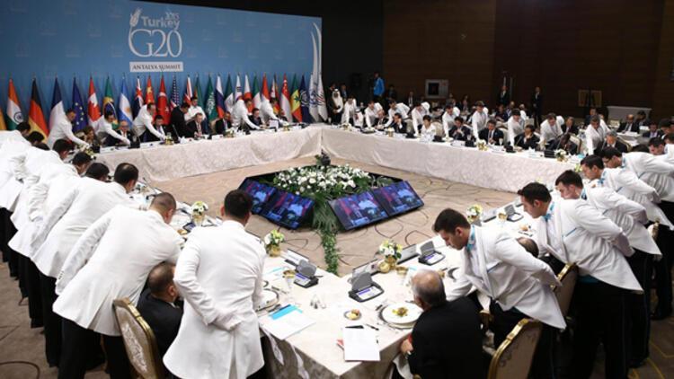 G20 Liderler Zirvesi'nde senkronize servis