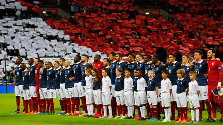 Wembleyde saygı gösterisi Biz ıslıkladık, onlar sustu