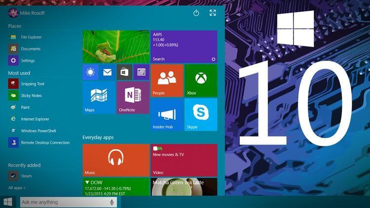 Windows 10 kullanımı daha da artacak