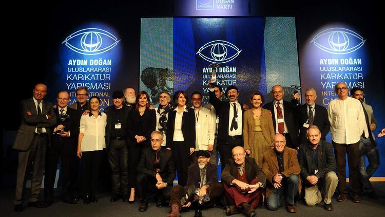 32'nci Aydın Doğan Uluslararası Karikatür Yarışması'nda ödüller sahiplerini buldu