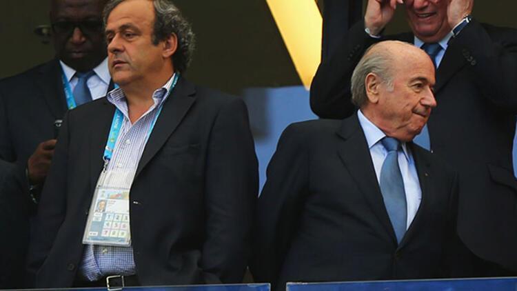 Blatter ve Platini için resmi soruşturma açıldı!