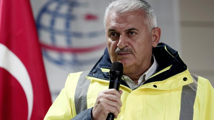 Binali Yıldırım: Gebze-Halkalı tren hattı 2018'de tamamlanacak
