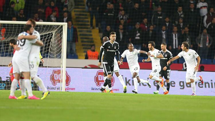 Beşiktaş 0-2 Akhisar Belediyespor