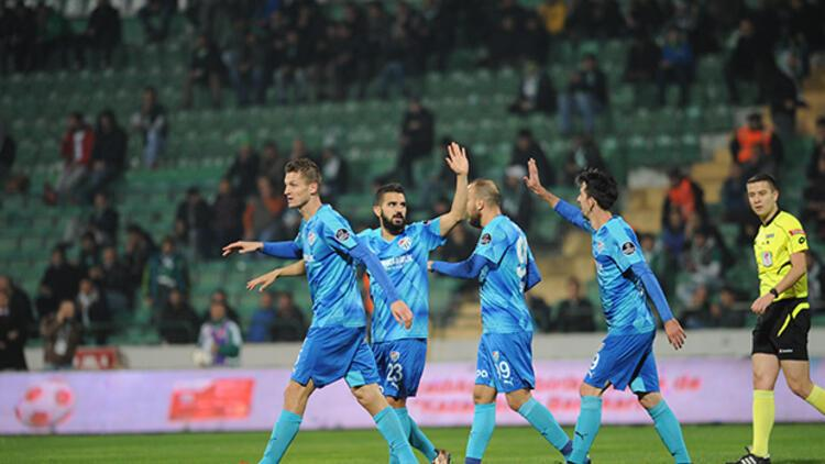 Bursaspor: 3 - UTAŞ Uşakspor: 0