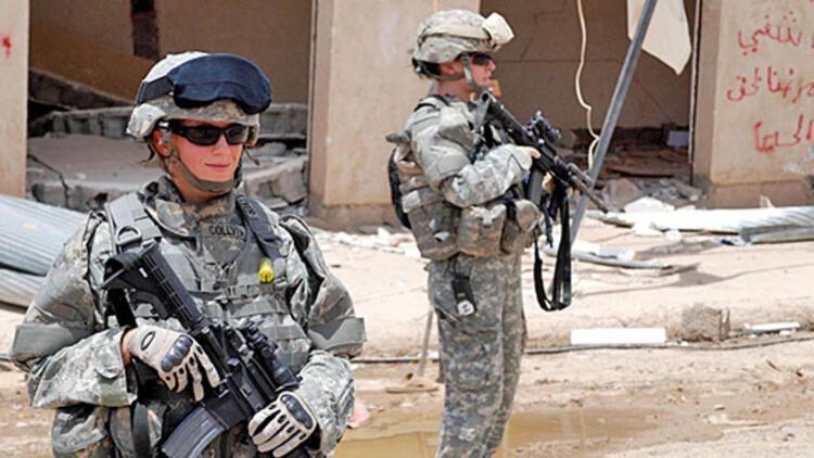ABD'de kadın askerler savaşta ateş hattında yer alabilecek