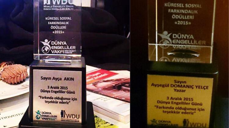 hurriyet.com.tr'nin iki yazarına ödül