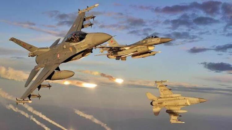 K.Irak'a 10 uçakla 50 dakika operasyon