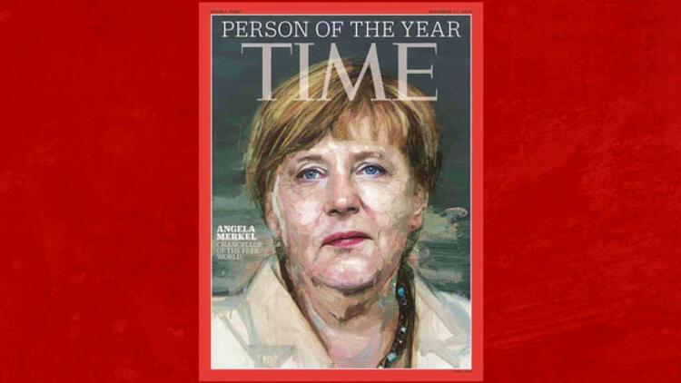 Yılınkişisi Angela Merkel