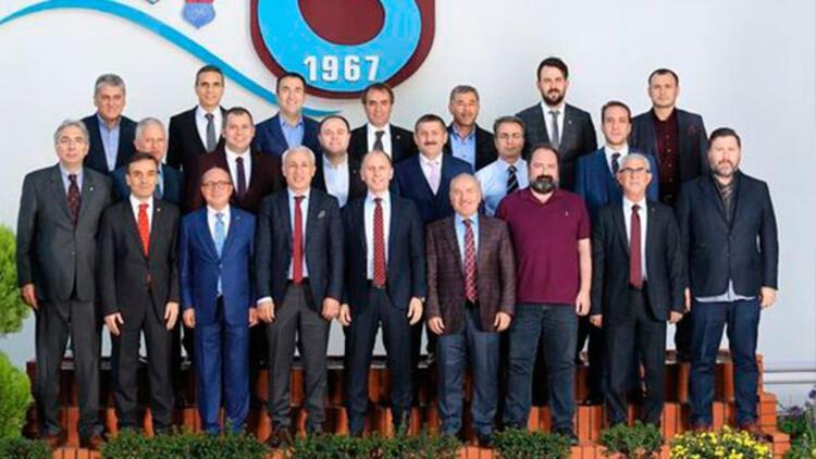Trabzonspor'da görev dağılımı yapıldı