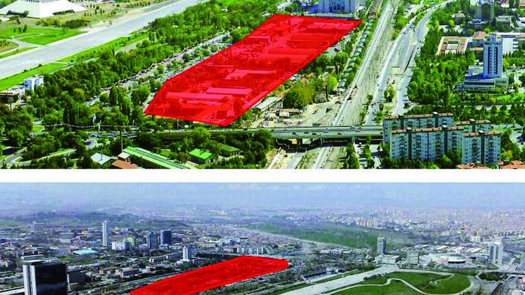 Ankara'nın şehir merkezindeki en büyük arazisine yeni proje geliyor