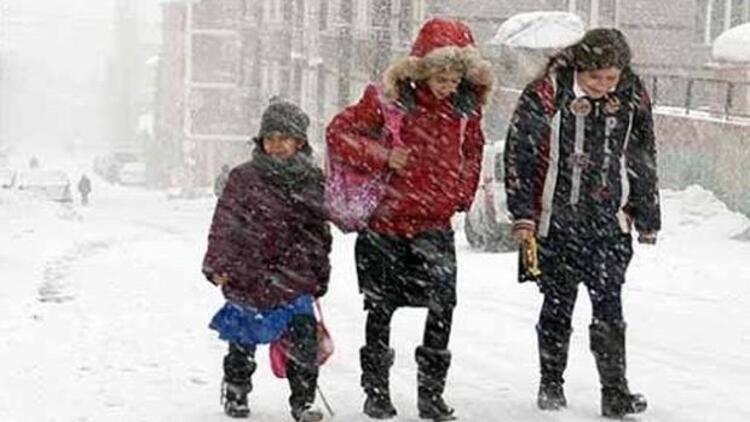 Bugün Okullar Tatil mi 5 Ocak Salı Günü Tatil Olan İller