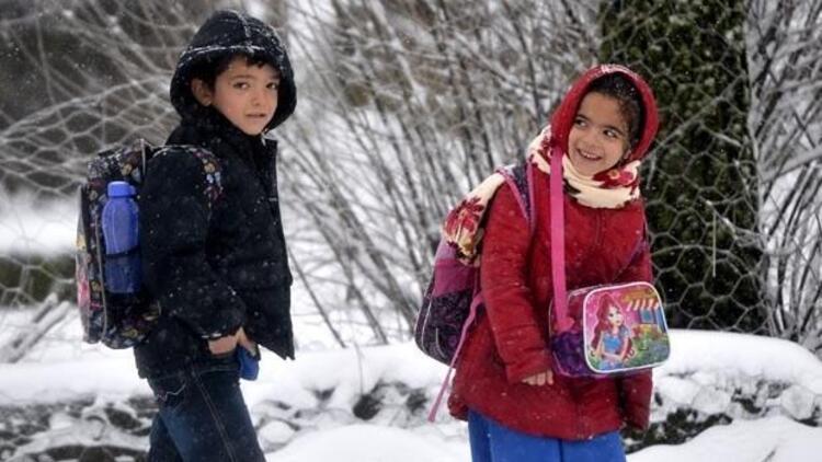 Okullar tatil mi? Hangi illerde okullar kar tatiline girdi?