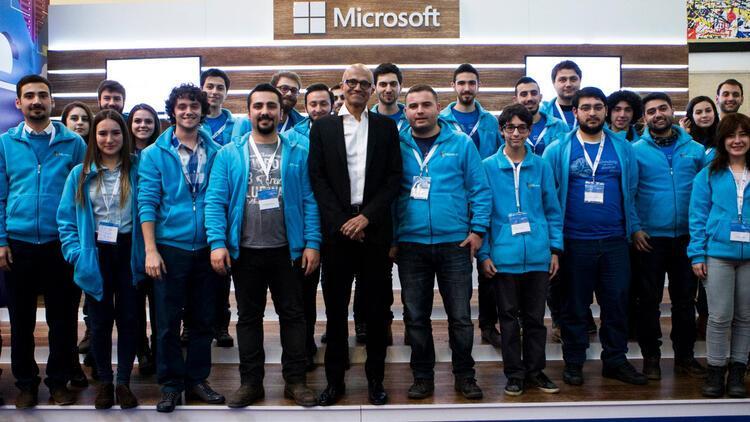 Microsoft'un patronu Satya Nadella Türkiye'ye geldi