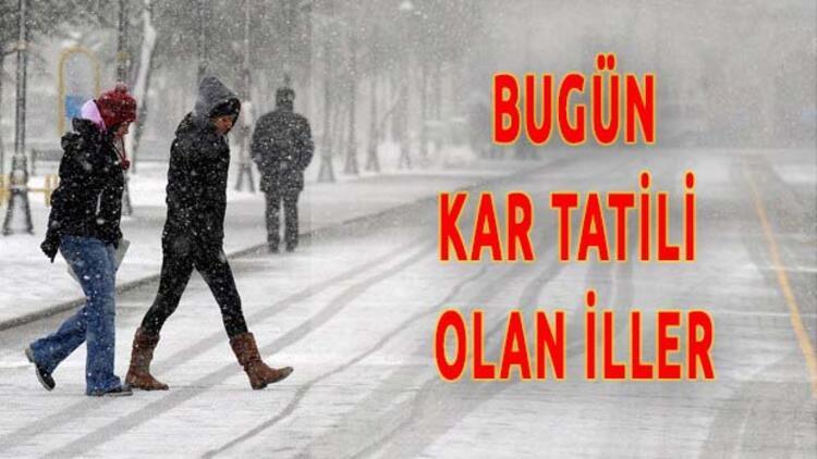 7 Ocak kar tatili olan iller | Bugün Okullar Tatil mi?