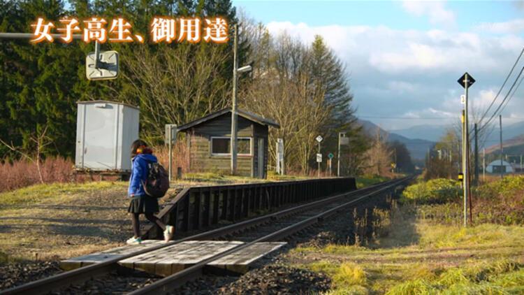 Japonya'da bir tren hattı tek bir öğrenci için açık tutuluyor