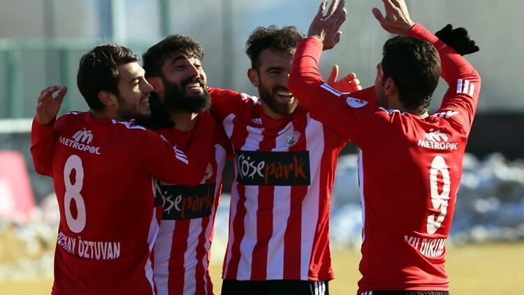 Sivas Belediyespor: 5 - Kardemir Karabükspor: 0