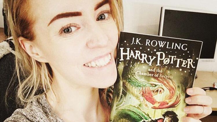 Hastalığını Harry Potter ile yendi