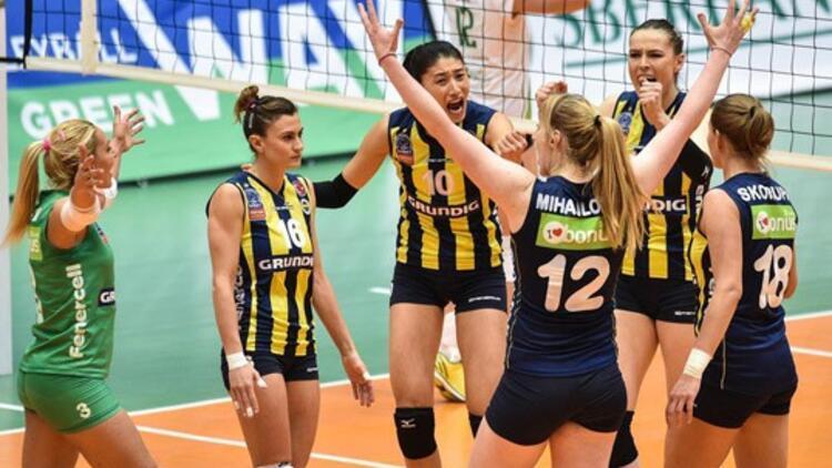 Telekom Bakü: 0 - Fenerbahçe Grundig: 3