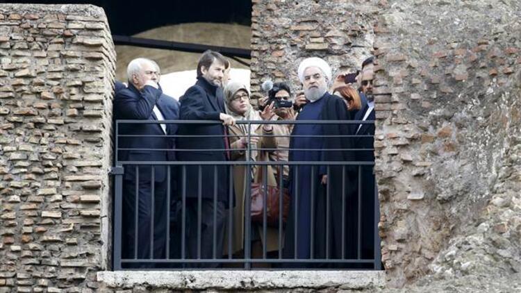 Ruhani'den 'çıplak heykel' tartışmasına yorum: Biz İtalya'dan böyle bir şey talep etmedik