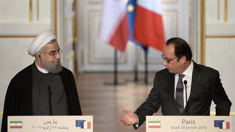Ruhani Hollande ile görüştü