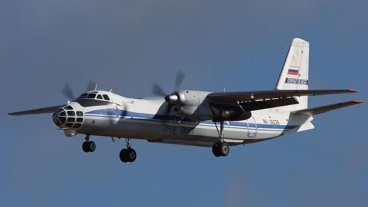 Rus uçağı Türk hava sahasında