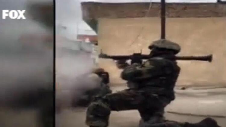Diyarbakır Surdaki çatışmaların sıcak görüntüleri