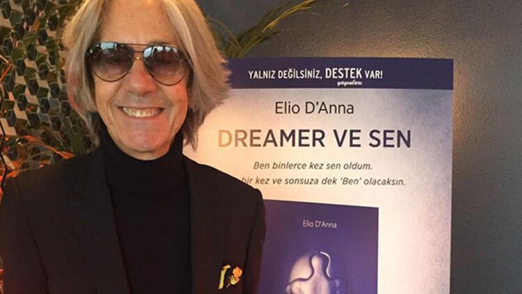 """'Dreamer ve Sen' kitabının yazarı Elio D'Anna: Ben binlerce kez sen oldum. Sen bir kez ve sonsuza dek """"Ben"""" olacaksın!"""