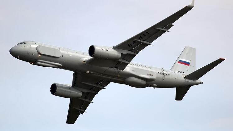 Rusya, Suriye'ye TU-214R casus uçağı konuşlandırdı