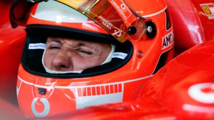 Schumacher'in menajerinden haber var!