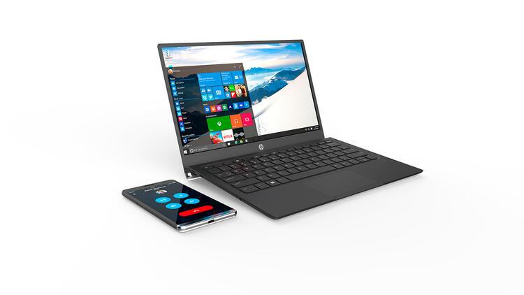 HP'den Windows 10'lu phablet