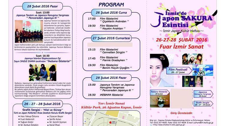 Japon kültürü İzmirlilerle buluşuyor