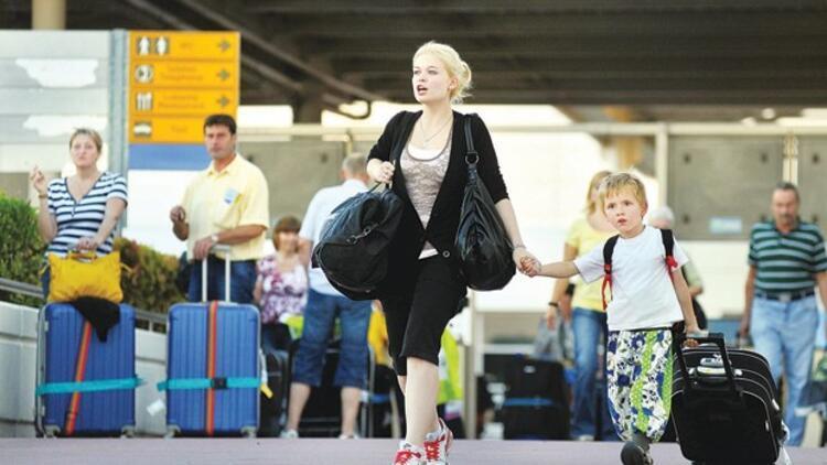 Şubat'ta Antalya'ya 55 Rus turist geldi