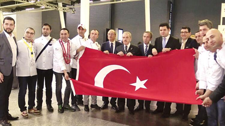 Uluslararası yemek yarışmasının şampiyonu Türkler oldu
