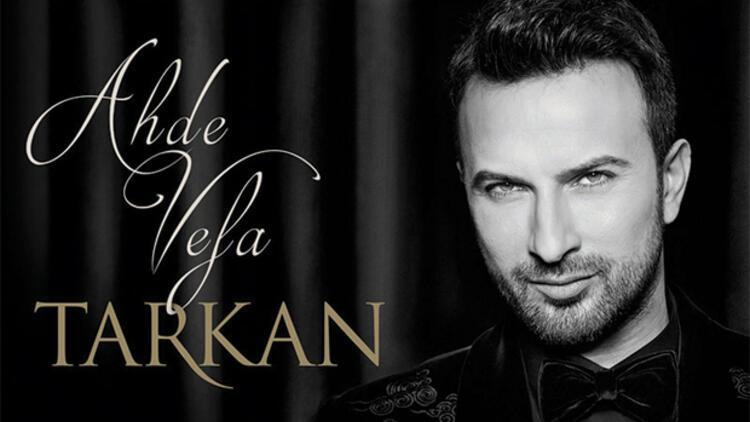 Tarkan'ın yeni albümü 'Ahde Vefa'ya büyük ilgi