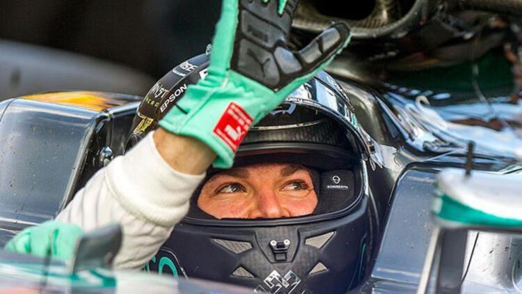 Rosberg kaldığı yerden devam ediyor