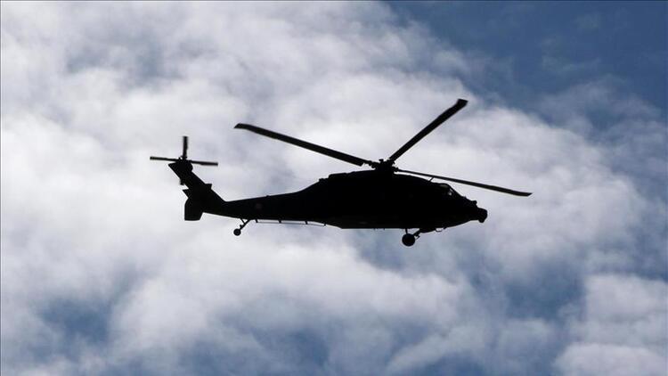 Endonezya'da askeri helikopter kazası