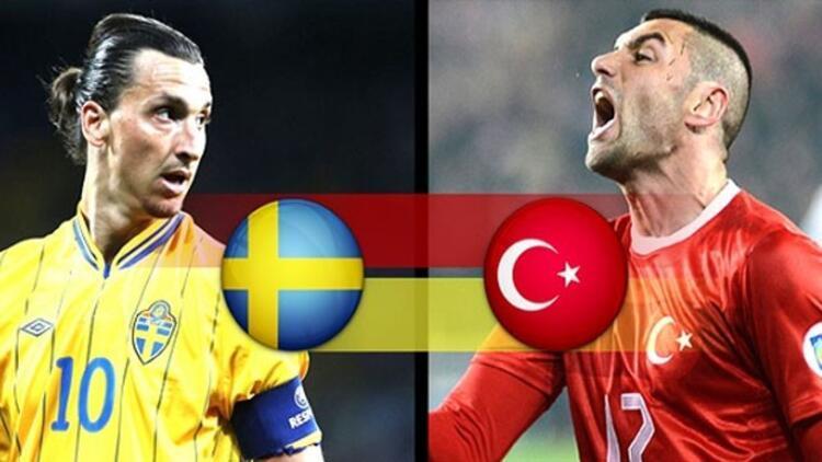 Türkiye İsveç maçı hangi kanalda ne zaman saat kaçta?