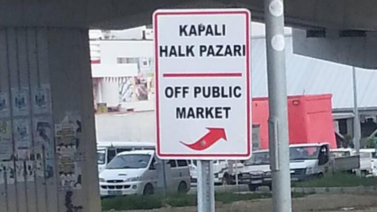 Kuşadası Belediyesi'nin İngilizce tabelaları sosyal medyayı salladı