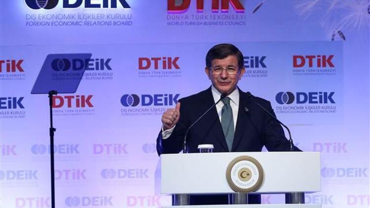 Başbakan Davutoğlu'ndan yeni anayasa ve başkanlık sistemi açıklamaları
