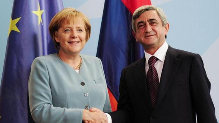 Ermenistan lideri Sarkisyan, Merkel ile görüşecek